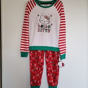 Hello Kitty Holiday Pajamas Fleece